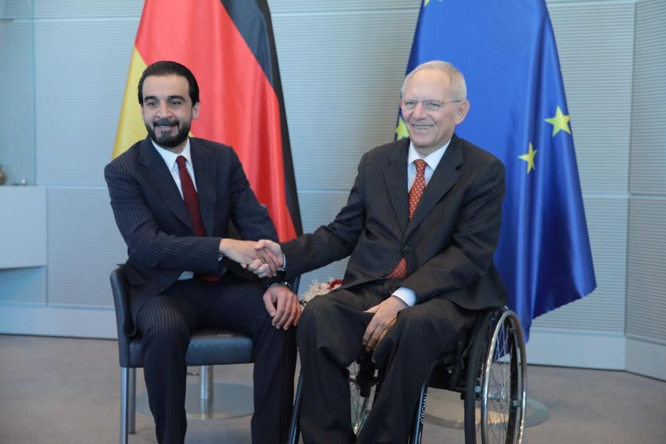 الحلبوسي من برلين: العراق انتصر على داعش بتضحيات أبنائه
