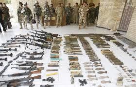 الأنبار: العثور على مخبأ لداعش وضبط 83 قنبرة هاون و16 عبوة