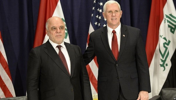 Mike Bens to my slaves .. The United States is committed to supporting Iraq Image