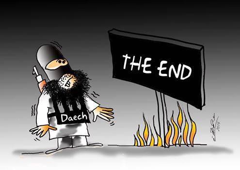 نهاية داعش في الفلوجة