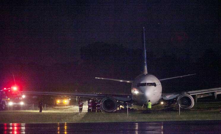 السلطات الاندونيسية تغلق مطار أديسوتجيبتو بعد انحراف طائرة عن المدرج أثناء الهبوط