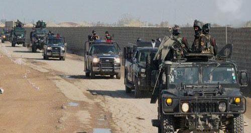 مكافحة الإرهاب تحرر 6 قرى ويرفعون العلم العراقي عليها