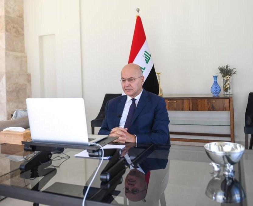 رئيس الجمهورية يؤكد  بمناسبة ذكرى إبادة الإيزيديين ضرورة معرفة مصائر المفقودين والمختطفين