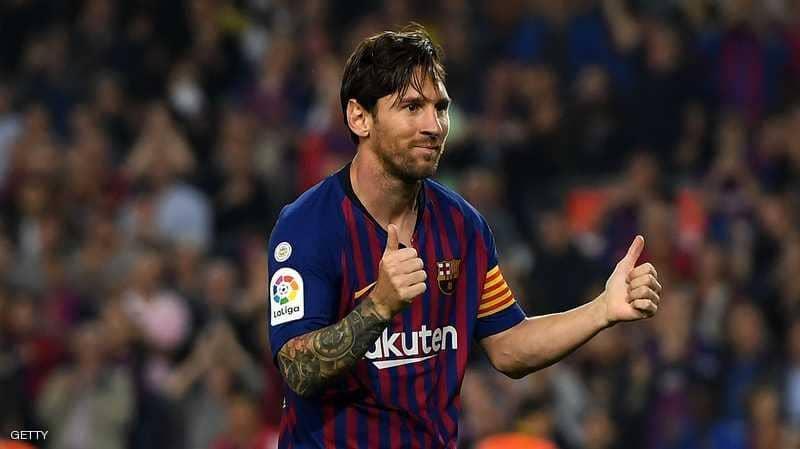 """برشلونة يعلن """"عودة ميسي"""" بشكل مفاجئ"""