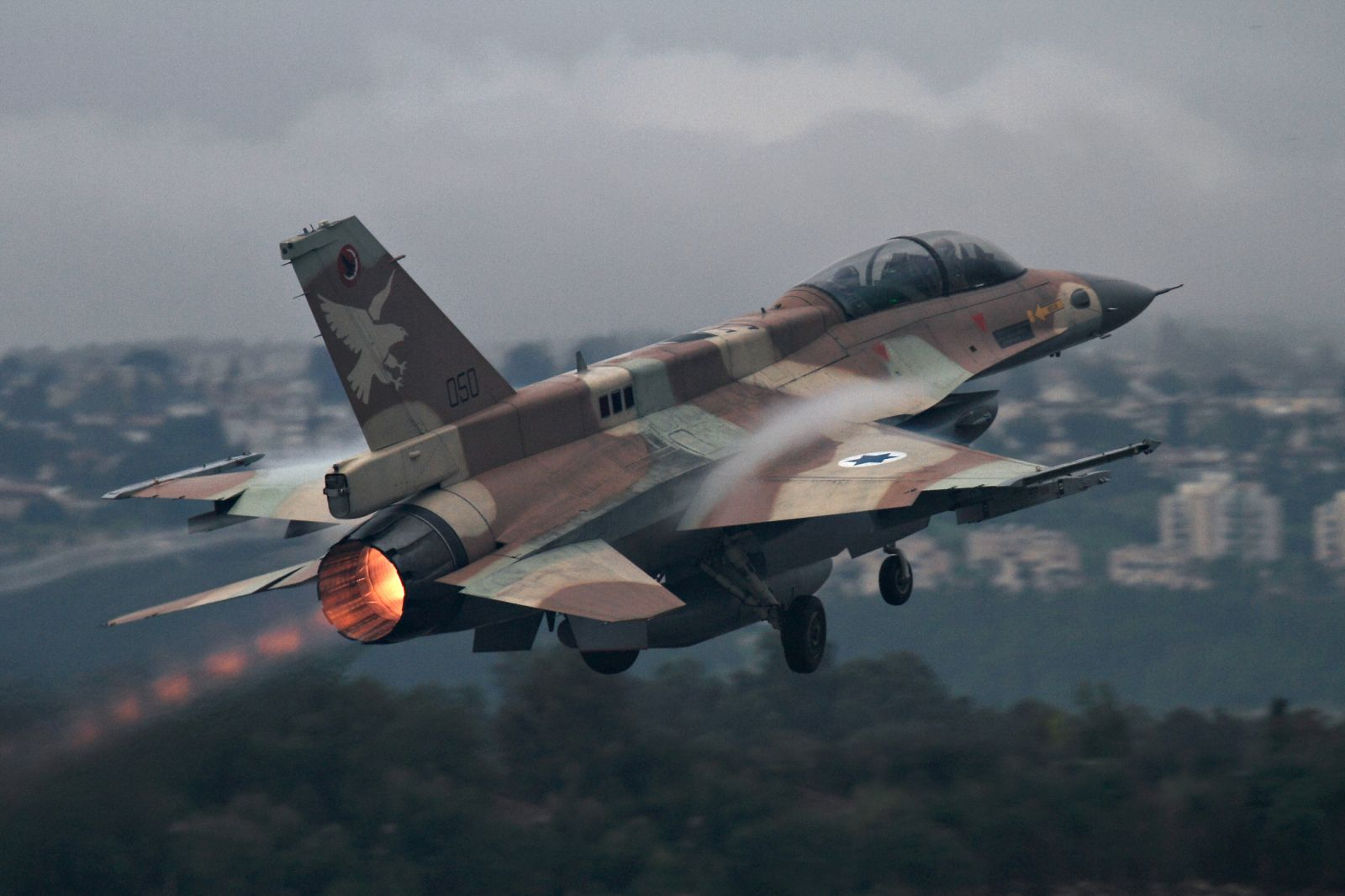 تحطم طائرة اسرائيلية فوق الجولان