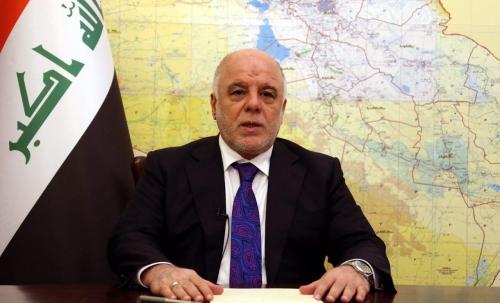 """العبادي يعلن عن انطلاق عمليات تحرير أيمن الموصل ويؤكد """"مهمتنا الرئيسة تحرير الانسان قبل تحرير الارض"""""""
