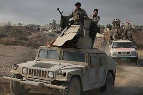 مكافحة الارهاب يقتحم حيي الموصل الجديد والاغوات