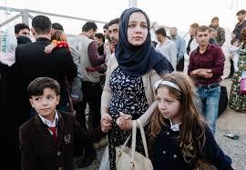 الهجرة: اعادة 105 لاجىء عراقي من الاراضي التركية إلى أرض الوطن