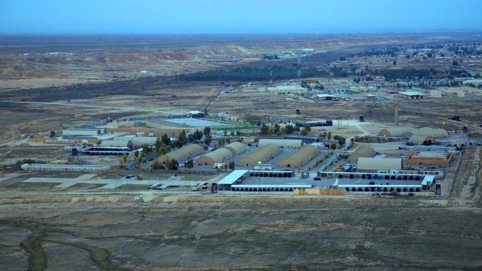 بالصور ..  منظومة الباتريوت الاميركية في قاعدة عين الاسد