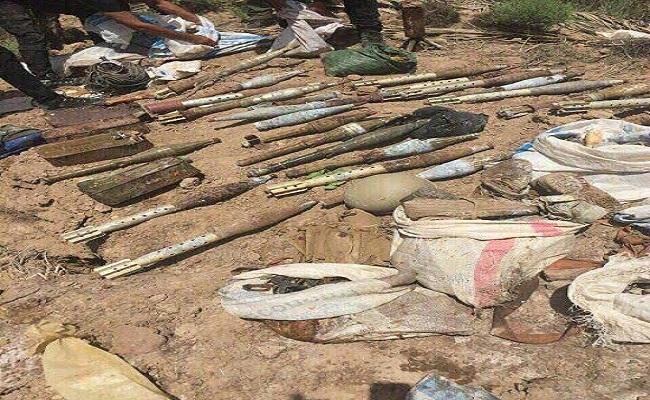 (بالصور) عمليات بغداد تضبط أسلحة وتلقي القبض على مطلوبين