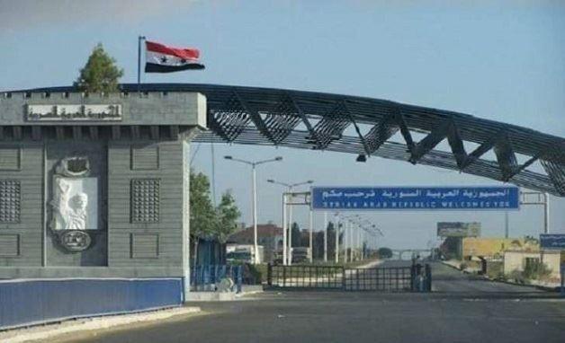 سوريا تعيد فتح معبر نصيب الحدودى مع الأردن