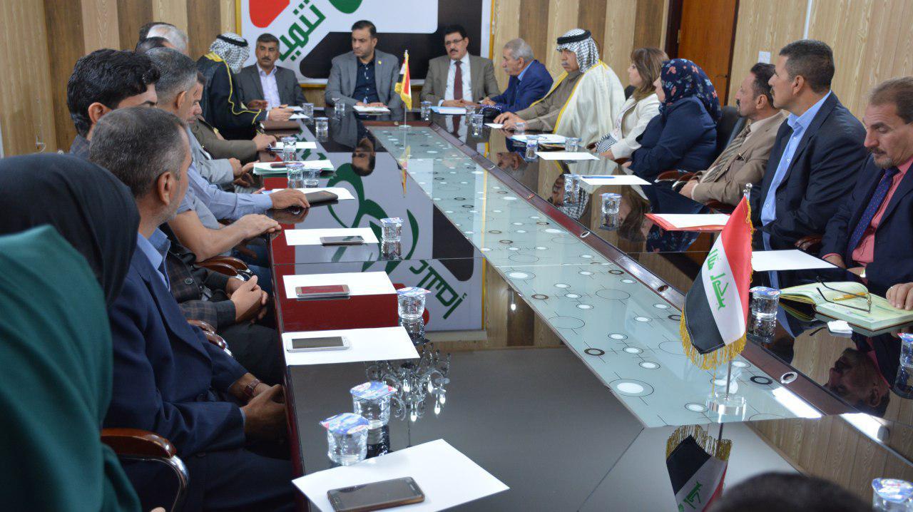 الأمين العام لحزب الحل  يلتقي تنظيمات فرع ديالى للحزب