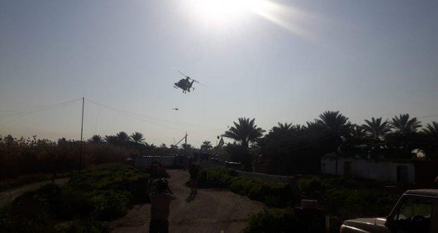 طيران الجيش يقصف اوكاراً لداعش قرب قرية المسحك
