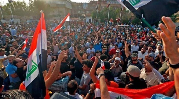 The Iraqi government faces paralysis as the protests enter its second month Image