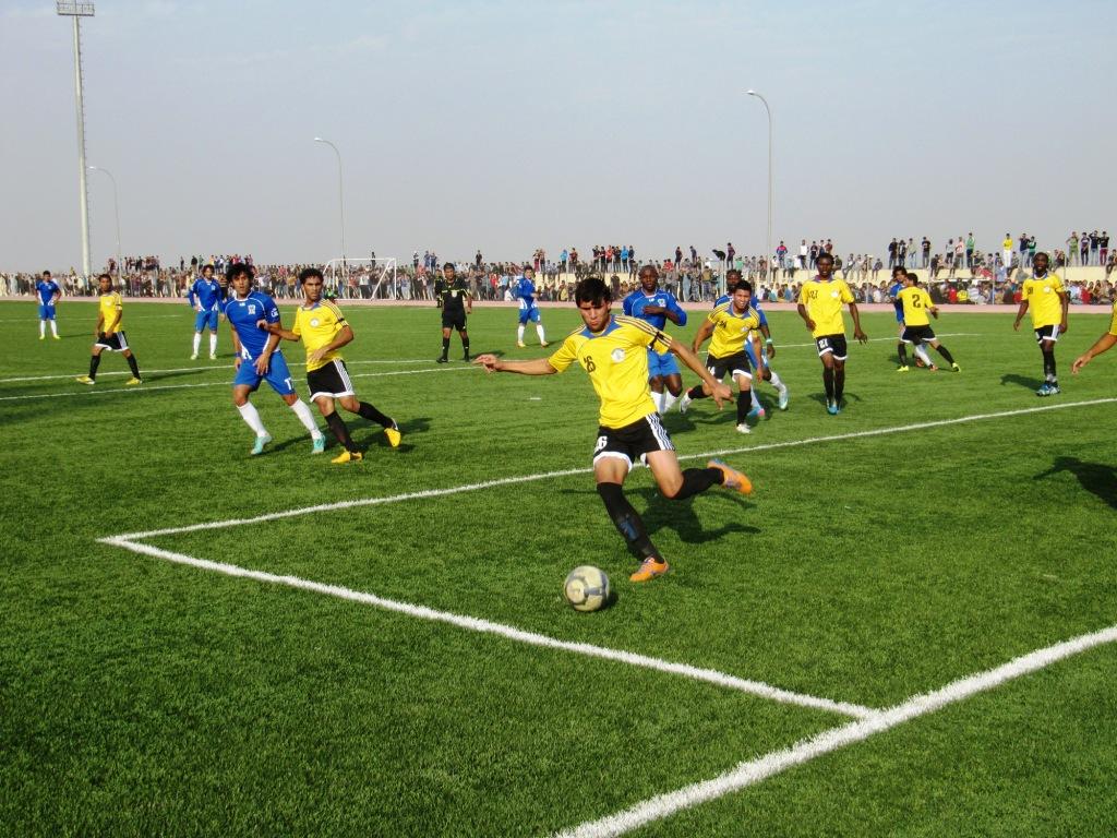 الشباب والرياضة تجهز ملاعبها في بغداد لاقامة مباريات الدوري الممتاز