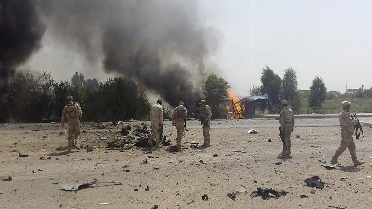 مقتل 20 انتحاريا من عصابات داعش في عملية غربي مدينة تكريت