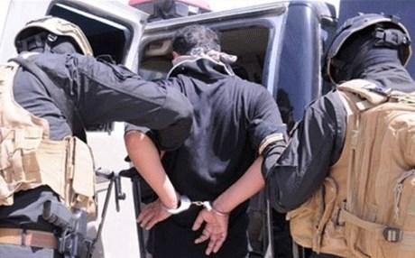 القبض على احد الارهابيين في سيطرة التون كوبري بكركوك