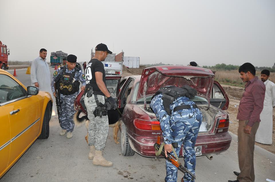 شرطة الديوانية تشدد من اجراءاتها الأمنية تحسبا من استغلال الارهابيين