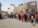 تظاهرات المعارضة في ذكرى استقلال البحرين
