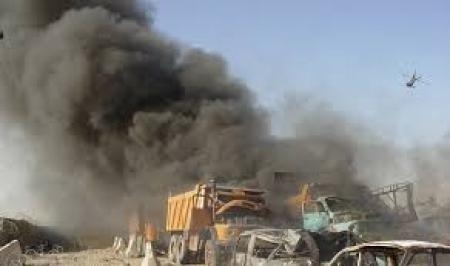 الجوية تقتل 19 ارهابيا وتدمر معملاً لتفخيخ العجلات في قضاء البعاج غربي الموصل (تفاصيل)