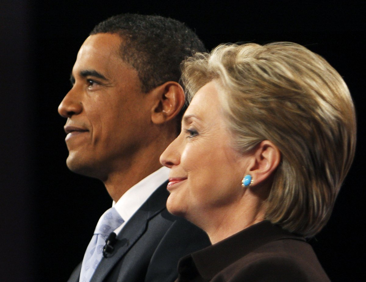 Can Clinton to get the US presidential Obama support