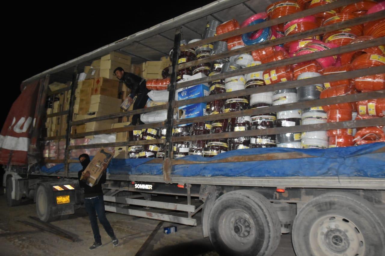 إحالة شاحنة للقضاء لتسببها بهدر الأموال في مندلي
