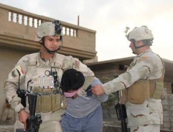 القاء القبض على احد امراء تنظيم داعش الارهابي في محافظة الانبار