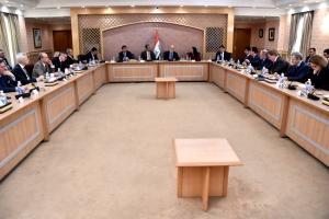 الجعفري يقدم 3 حلول أمام سفراء الدول الأوروبية ثلاث حلول للقضاء على جذور الارهاب
