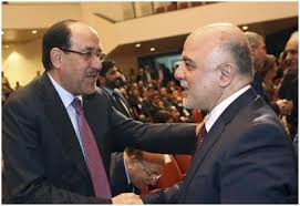 Source from within the Dawa Party - moves to arrange a reconciliation between al-Maliki and al-Abadi