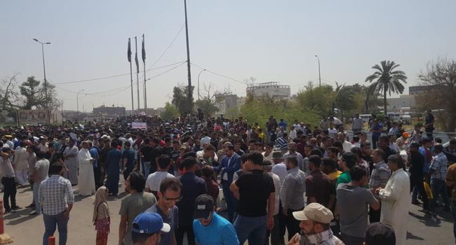 العفو الدولية : من حق العراقيين ممارسة حقهم بالتجمع السلمي بدون ترهيب او قمع