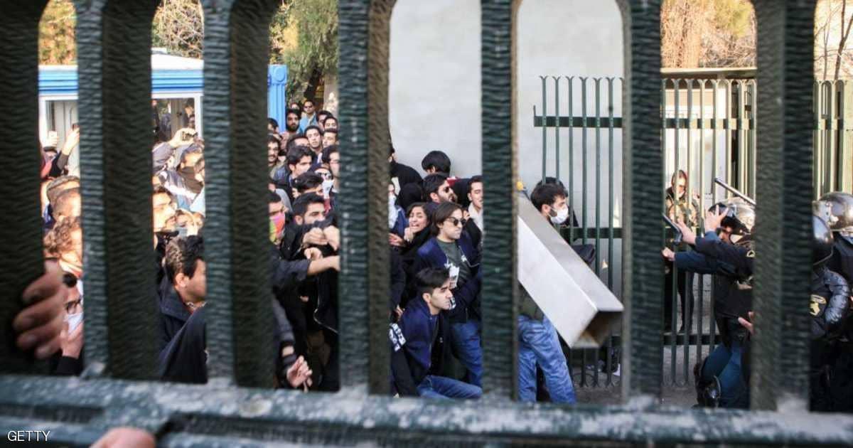 واشنطن تدعو المجتمع الدولي لوقف طهران عن قمع الشعب الإيراني