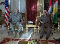 مسعود بارزاني: لابد من حل سياسي في العراق إلى جانب العسكري