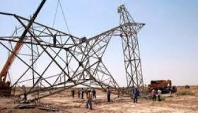وزارة الكهرباء توقف خط ديالى الأمين بعد تعرضه الى عمل ارهابي