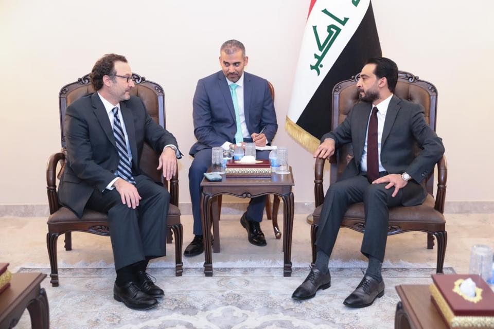 Halbousi and US Assistant Secretary of State discuss economic and security cooperation Image