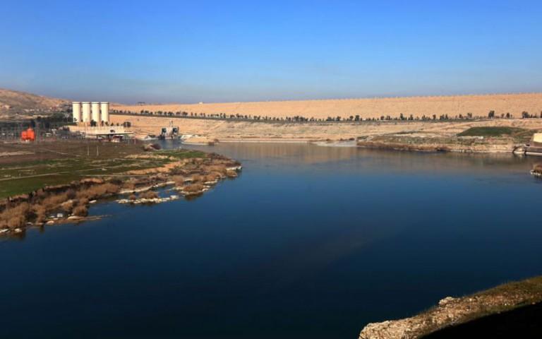 تحذيرات من جفاف سد الموصل في الايام المقبلة والسبب!!