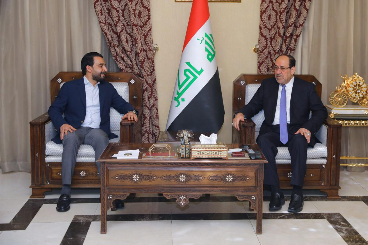 Halabousi and Maliki stressed the importance of activating the role of parliament to legislate the laws of idle and important Image