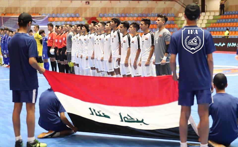 ليوث الرافدين في ربع نهائي كأس آسيا للصالات