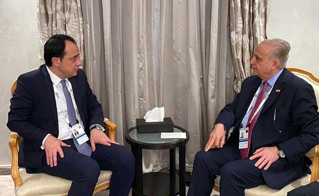 وزير الخارجية يدعو شركات الاستثمار القبرصيّة للعمل في العراق