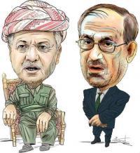 لغز سقوط الموصل يجبر المالكي على تبني خطاب صدام للرد على بارزاني!!