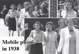 الكشف عن سر فتاة ظهرت في فيديو وبيدها خلوي في عام  1938