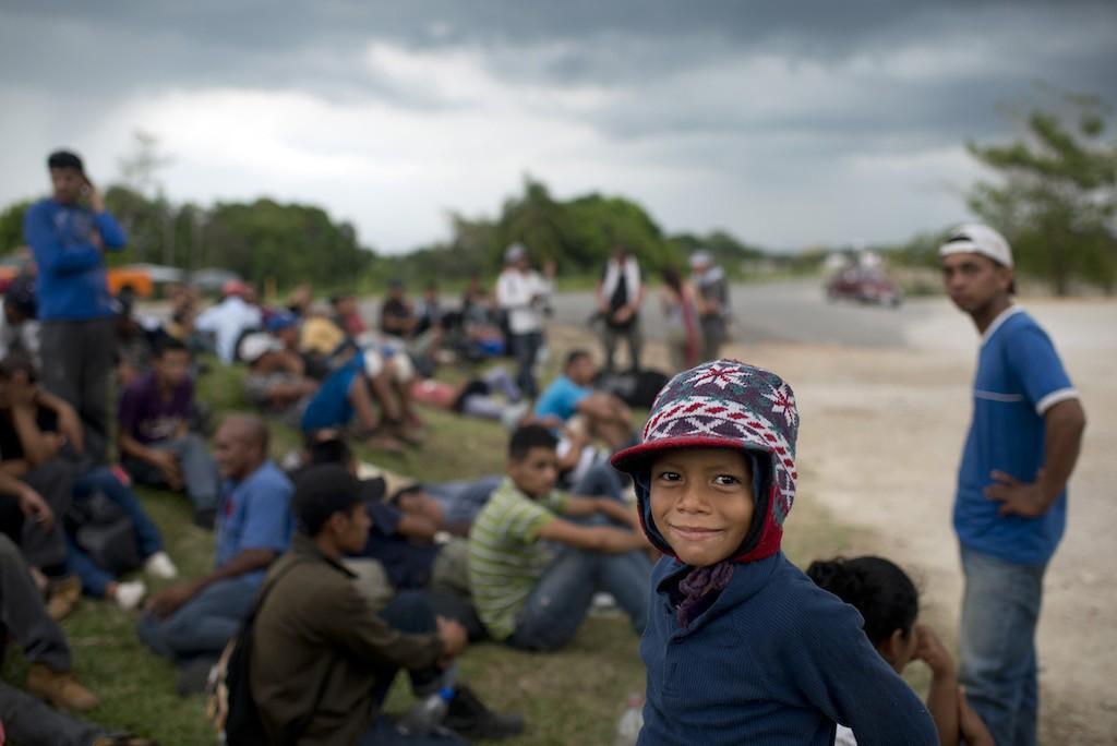 أطفال يهربون من الفقر في امريكا الوسطى الى الولايات المتحدة