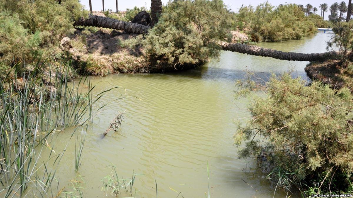 شديدة الملوحة وسُمية  ..  مياه البزل الايرانية تهدد اراضي البصرة وحقولها النفطية