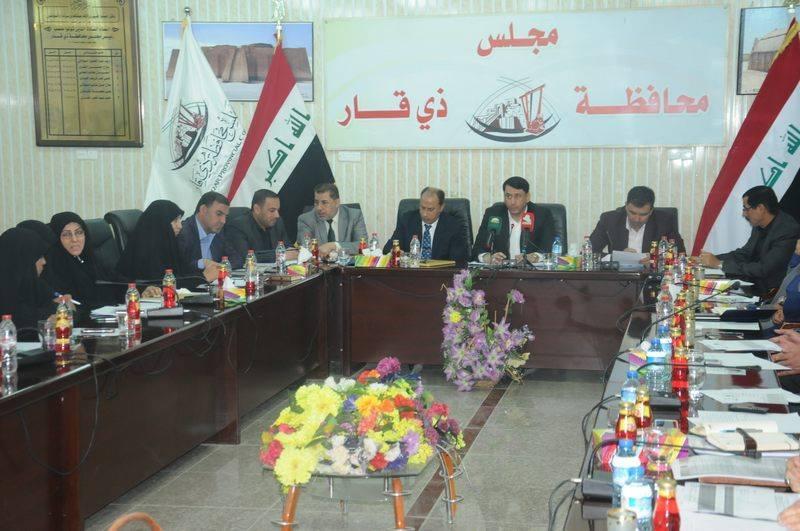 مجلس محافظة ذي قار يناقش أزمة الكهرباء بحضور الناصري