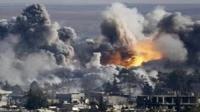 داعش يقصف قرى مخمور المحرر شرق الموصل