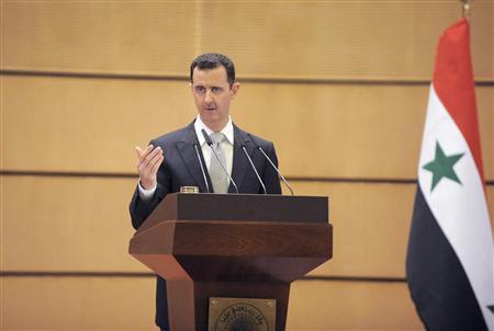 الاسد يقول إن سوريا يمكنها ردع اسرائيل