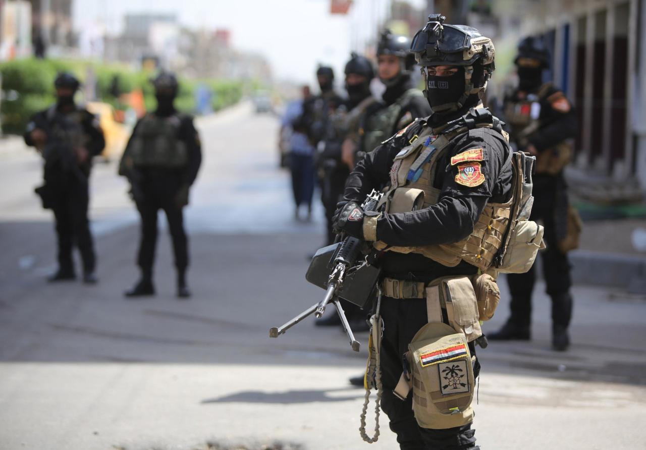 احباط عملية انتحارية بواسطة امرأة لاستهداف احد مناطق بغداد