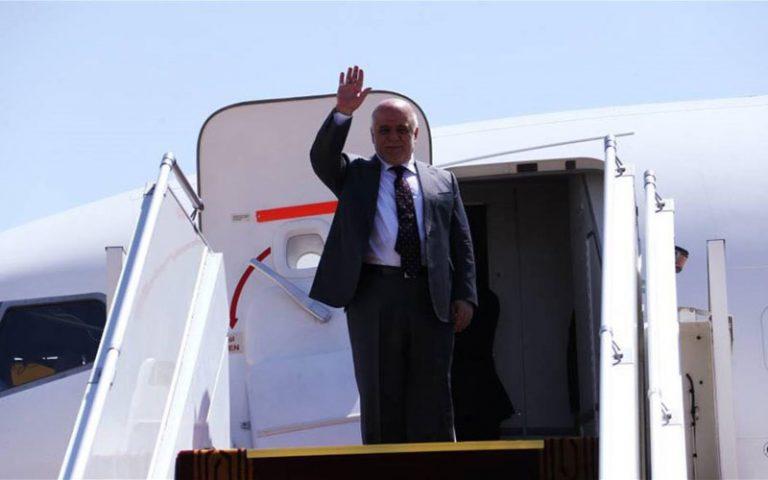 العبادي يبدأ زيارته في طوكيو  بلقاء رئيس وزراء اليابان شينزو