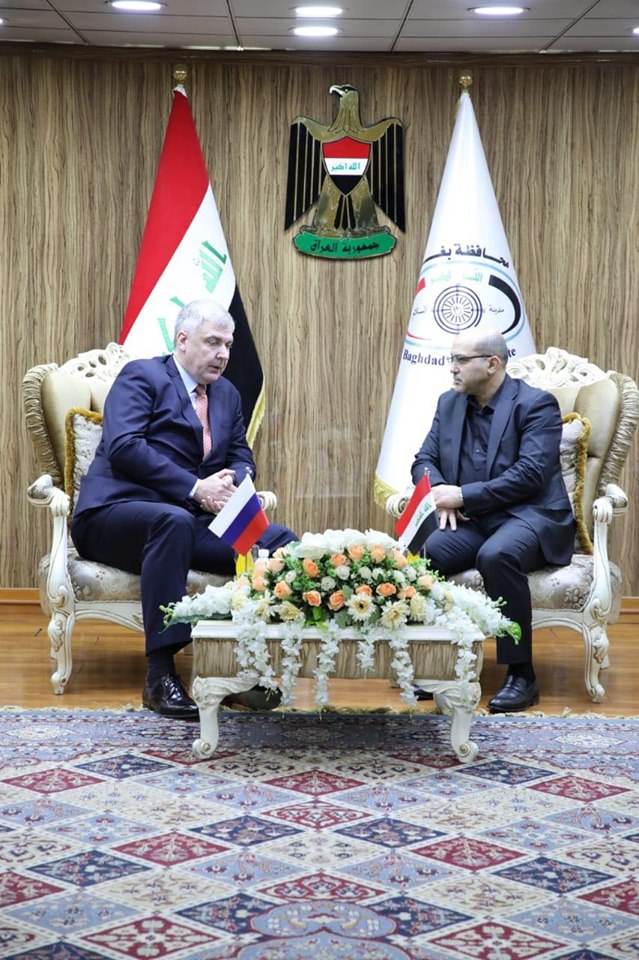 Governor of Baghdad calls for sober Russian companies to invest and implement projects Image