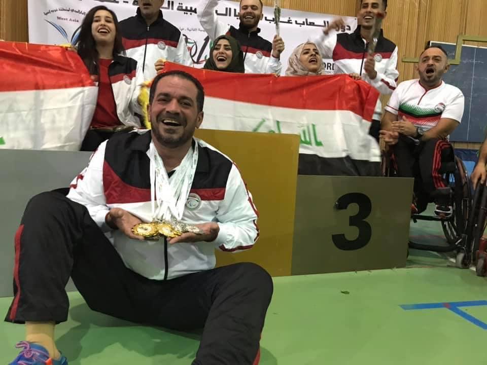 وزير الشباب والرياضة يعلق على فوز العراق بدورة الألعابالبارالمبيةفي الأردن