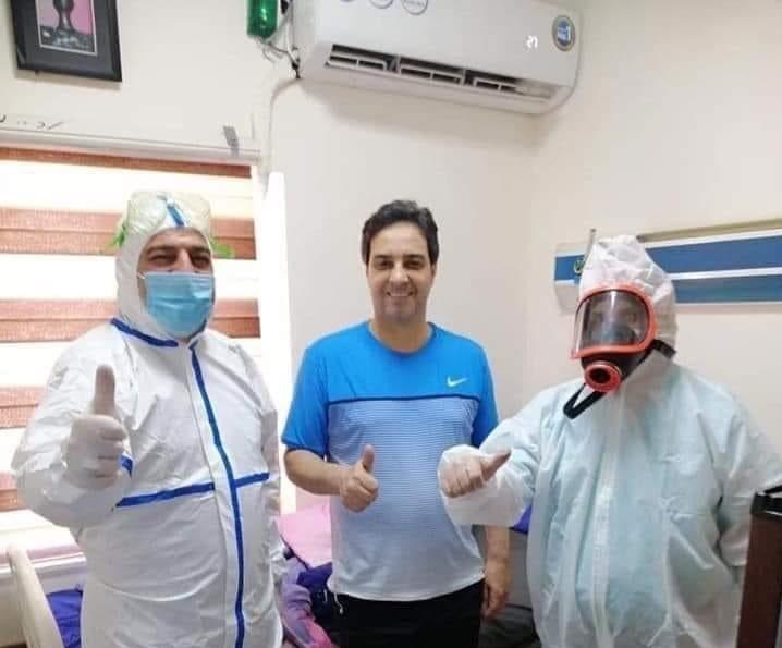 عودة أحمد راضي إلى المستشفى لانتكاسته صحياً